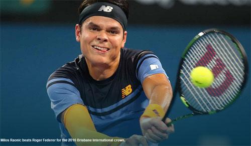 Federer – Raonic: Hai break bản lề (CK Brisbane) - 1