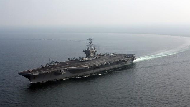 Mỹ có thể đưa tàu sân bay tới bán đảo Triều Tiên - 1