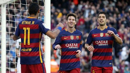 """Barca: Điểm tựa M-S-N & """"khối óc"""" Enrique - 1"""