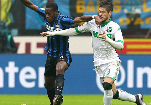 Inter – Sassuolo: Bị kịch phút bù giờ - 1