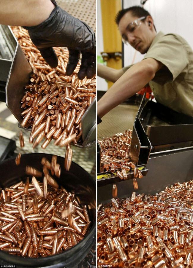 Ảnh: Bên trong nhà máy sản xuất đạn gần trăm năm ở Mỹ - 5