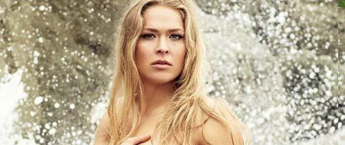 """""""Nữ hoàng UFC"""" xuất hiện táo bạo không mảnh vải - 3"""