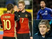 Bóng đá - Chồng sẵn 80 triệu bảng, Man City tranh Hazard với Real