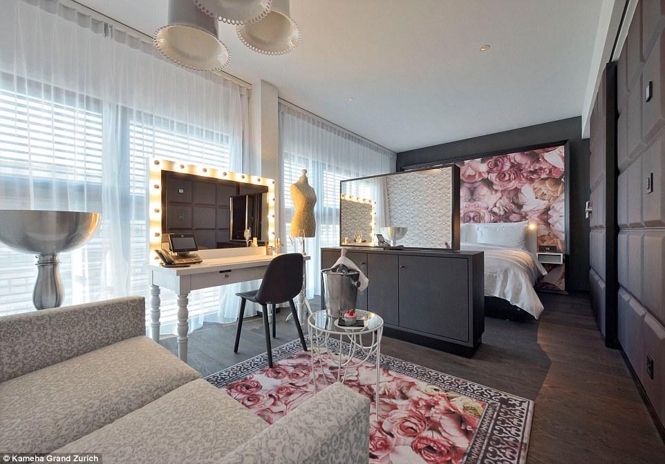 Khách sạn với những căn phòng thiết kế độc lạ ở Thụy Sĩ - 5