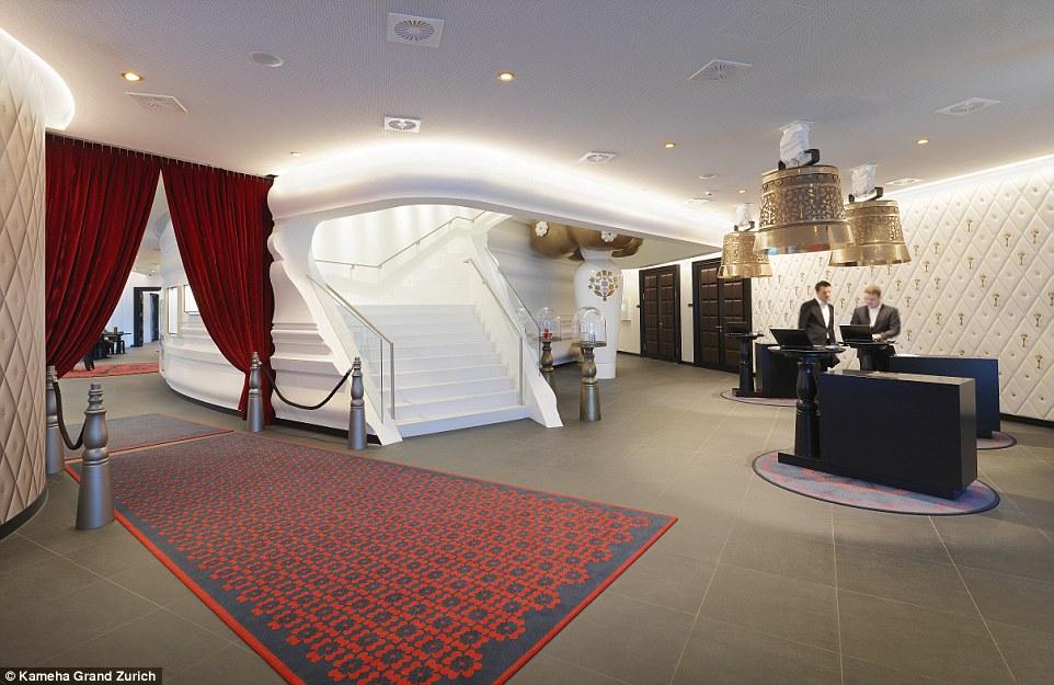 Khách sạn với những căn phòng thiết kế độc lạ ở Thụy Sĩ - 9