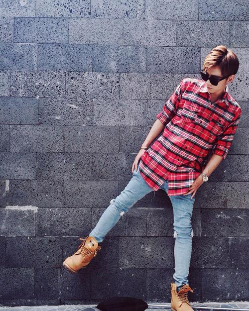 Gu thời trang như sao Hàn của trai đẹp 'The Remix 2016' - 11