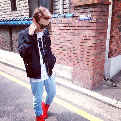 Gu thời trang như sao Hàn của trai đẹp 'The Remix 2016' - 15