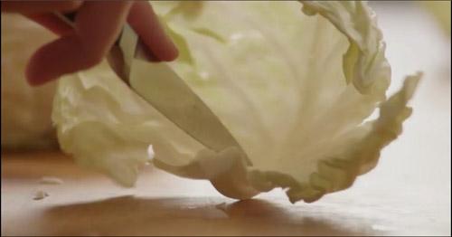 Lạ miệng cơm cuộn bắp cải thơm ngọt - 2