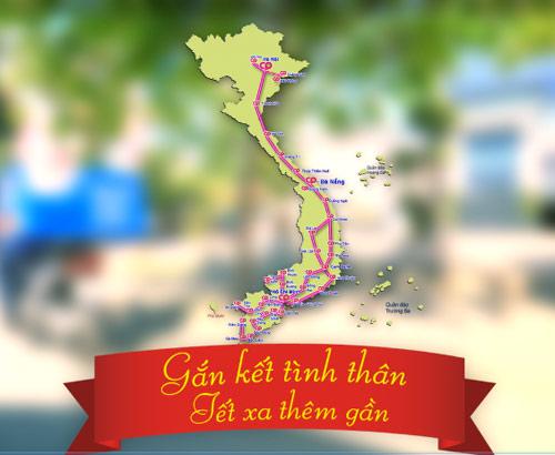 Siêu thị giao giỏ quà Tết miễn phí từ Cà Mau ra Hà Nội - 2