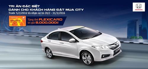 Honda Việt Nam tri ân đặc biệt khách hàng mua xe City 2016! - 1