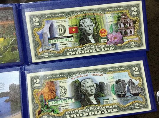 Đồng xu mạ vàng in hình khỉ giá 3 triệu đồng - 3