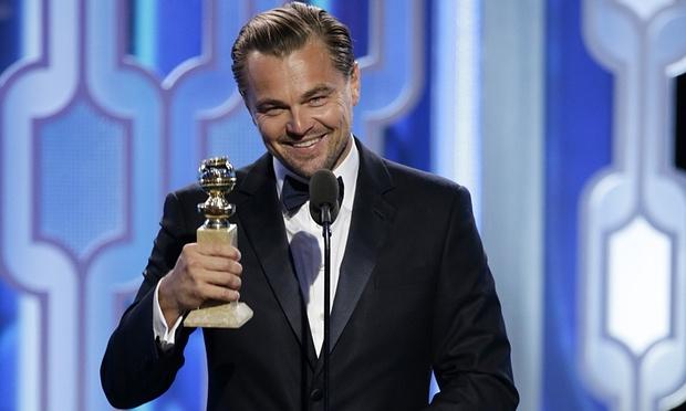 Leonardo DiCaprio thắng giải lớn tại 'Quả cầu vàng 2016' - 1