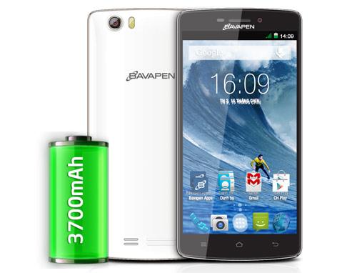 Mua smartphone 2 sim Bavapen B505 rinh bia mừng năm mới - 2