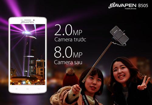 Mua smartphone 2 sim Bavapen B505 rinh bia mừng năm mới - 3