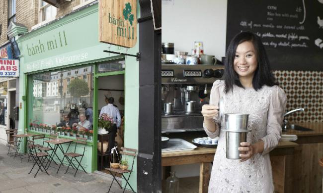 Gặp cô gái Việt bỏ việc ngân hàng đi bán bánh mì ở Anh - 1