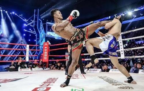 """""""Hoàng tử Muay Thái"""" đả bại cao thủ Trung Quốc - 1"""