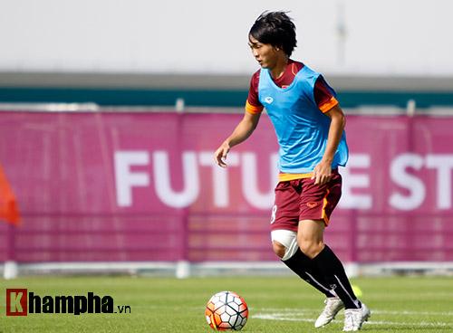 U23 VN: Ly kỳ chuyện Tuấn Anh mừng rơi nước mắt - 2