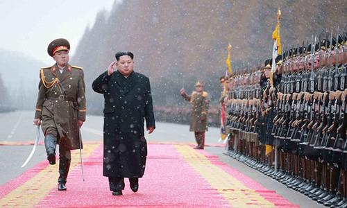 Mặc Mỹ đe dọa, Kim Jong-un muốn có bom mạnh hơn nữa - 1