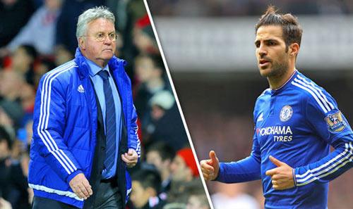 "Chelsea: Khi Hiddink ""phù phép"" Fabregas - 2"