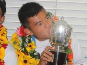 """Thể thao - BXH tennis 11/1: Hoàng Nam nhận """"lộc"""" đầu năm"""