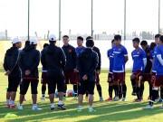 """Bóng đá - U23 VN: Sợ bị """"do thám"""", HLV Miura tung chiêu độc"""