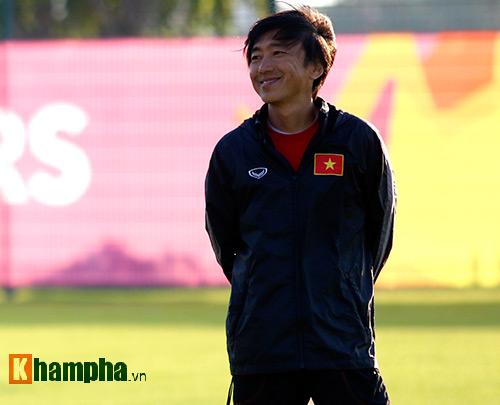 U23 Việt Nam: HLV Miura cười thật tươi với Tuấn Anh - 4