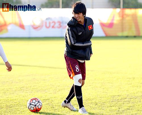 U23 Việt Nam: HLV Miura cười thật tươi với Tuấn Anh - 7