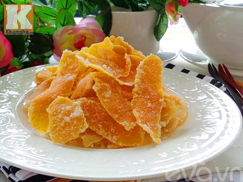 Cách làm mứt vỏ cam nhâm nhi ngày lạnh - 7