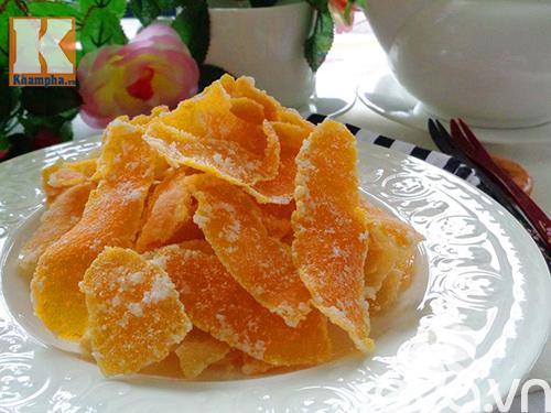 Cách làm mứt vỏ cam nhâm nhi ngày lạnh - 6