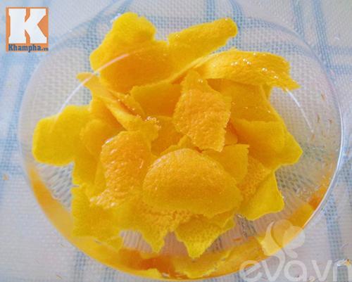 Cách làm mứt vỏ cam nhâm nhi ngày lạnh - 3