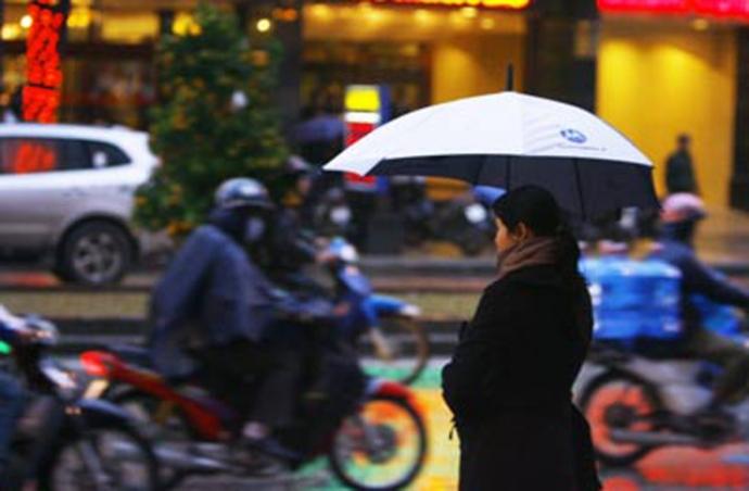 Thời tiết 12/1: Miền Bắc mưa rét, nhiệt độ dưới 14 độ C - 1