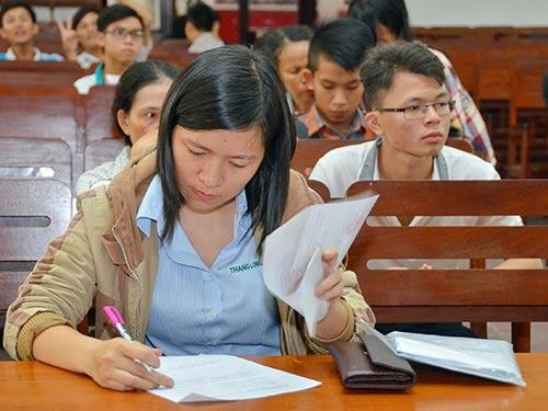 Tuyển sinh ĐH-CĐ 2016: Không được đổi nguyện vọng xét tuyển - 1