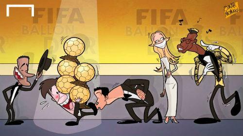 """Ảnh chế"""": """"Vua hề"""" Neymar, CR7 cưa bồ Messi - 3"""