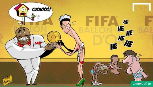 """Ảnh chế"""": """"Vua hề"""" Neymar, CR7 cưa bồ Messi - 4"""