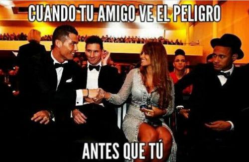 """Ảnh chế"""": """"Vua hề"""" Neymar, CR7 cưa bồ Messi - 8"""