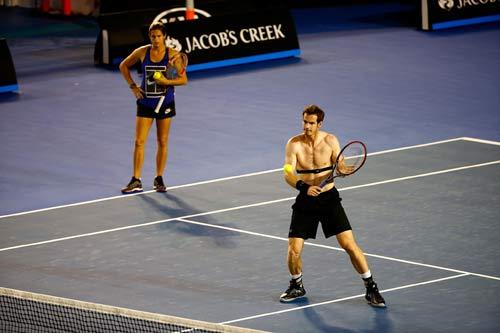 "Australian Open: Murray ""nắn gân"" Djokovic - 1"