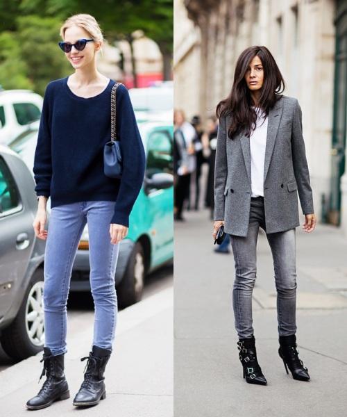 Học tín đồ thế giới diện quần jeans đơn giản mà đẹp - 6