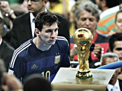Messi: 5 Quả bóng Vàng không bằng 1 chiếc cúp Vàng - 1