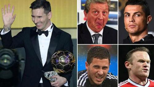 Những lá phiếu kỳ lạ ở Quả bóng vàng FIFA 2015 - 1