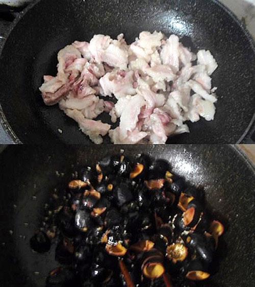 Thịt kho trám béo ngậy bữa cơm trưa ngày lạnh - 3