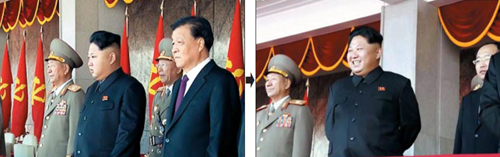 Triều Tiên xóa hình quan chức TQ đứng cạnh Kim Jong-un - 1