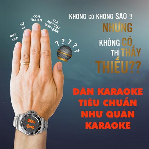 """Cách phối ghép dàn karaoke """"chuẩn"""" như quán karaoke cho Tết 2016 - 1"""