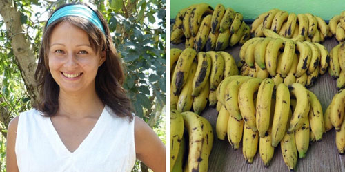 Cô gái chỉ ăn chuối trong 12 ngày khiến nhiều người ngỡ ngàng - 1