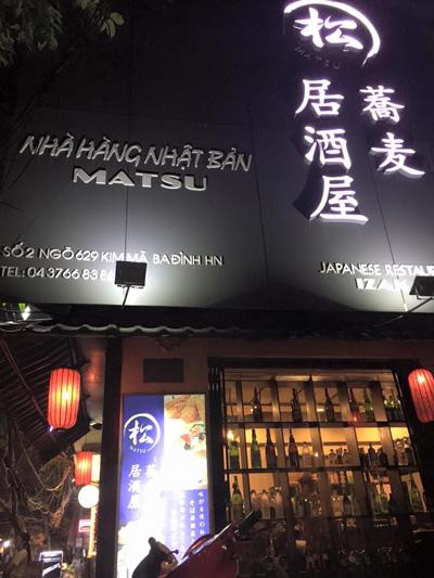 Matsu Izakaya – tinh tế ẩm thực Nhật giữa lòng Hà Nội - 1