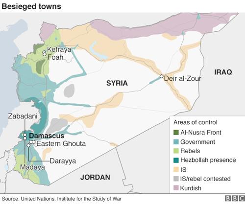 """400 người ở """"thị trấn chết đói"""" Syria cần điều trị khẩn - 2"""