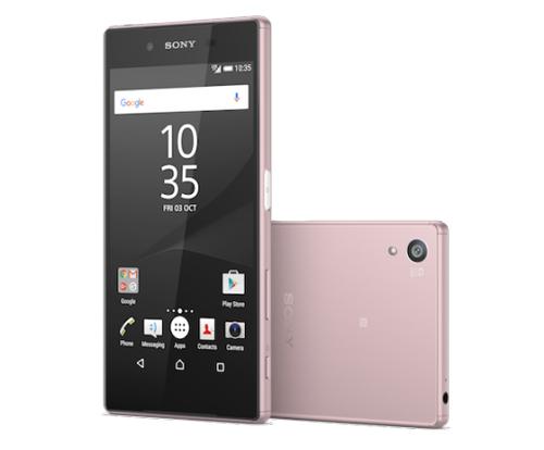 Xperia Z5 màu hồng chính thức ra mắt - 2