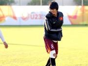 Bóng đá - U23 Việt Nam: HLV Miura cười thật tươi với Tuấn Anh