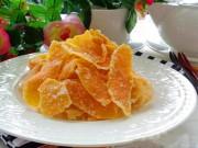 Ẩm thực - Cách làm mứt vỏ cam nhâm nhi ngày lạnh