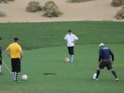 Thể thao - Footgolf: Sự kết hợp hoàn hảo bóng đá và golf