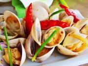 An toàn thực phẩm - Những sai lầm tuyệt đối tránh khi ăn ngao